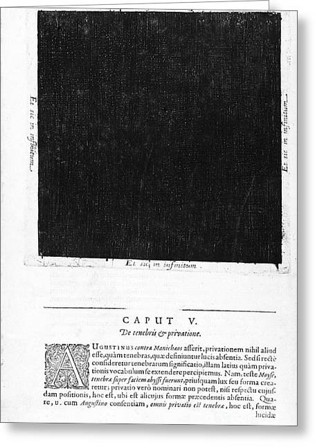 Fludds Dark Universe, 1617 Greeting Card by Wellcome Images