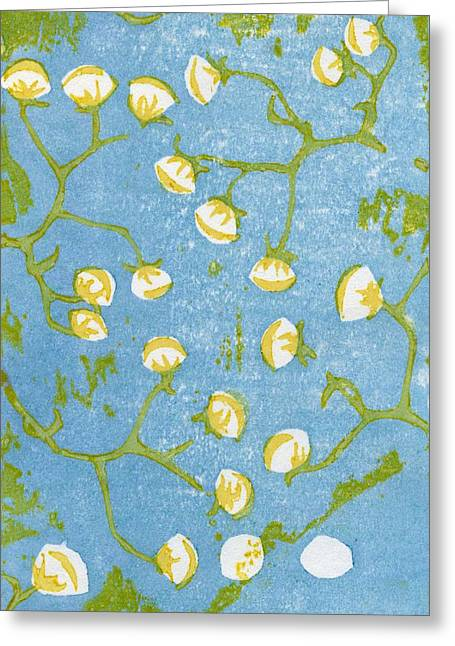 Fluffy Seedheads Greeting Card by Bella Larsson
