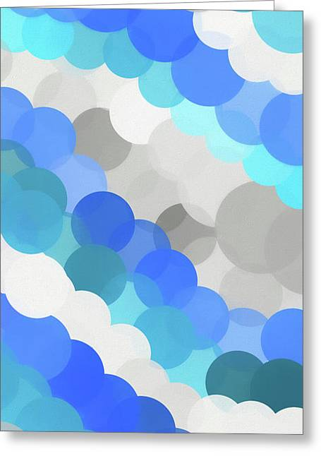 Fluid Greeting Card by Dan Sproul