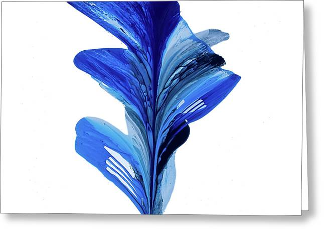 Fluidity #50 Greeting Card