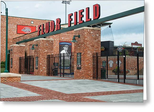 Fluor Field Greeting Card by Blaine Owens Photography