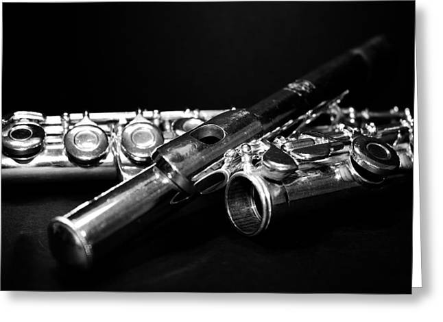 Flute Series I Greeting Card by Lauren Radke