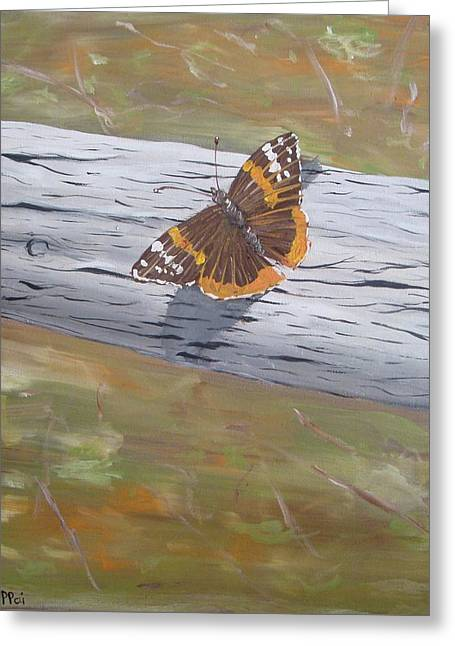 Butterfly Flutter-feel The Warmth Greeting Card