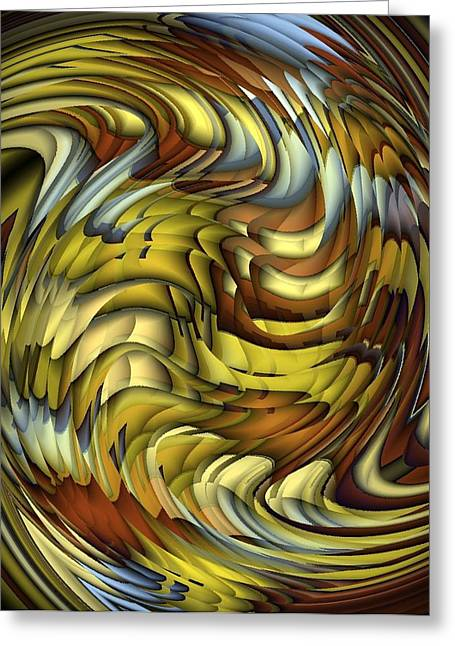 Flutter Greeting Card by Terry Mulligan