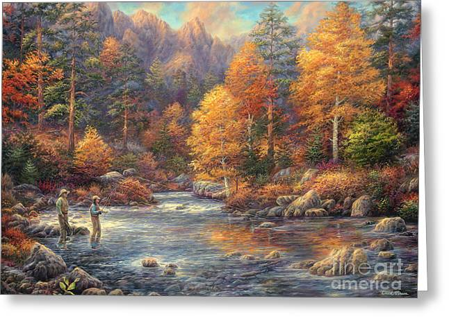 Fly Fishing Legacy Greeting Card