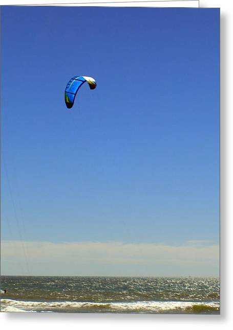Fly In The Sky. Greeting Card by Robin Hernandez