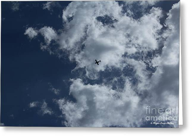 Greeting Card featuring the photograph Fly Me To The Moon by Megan Dirsa-DuBois