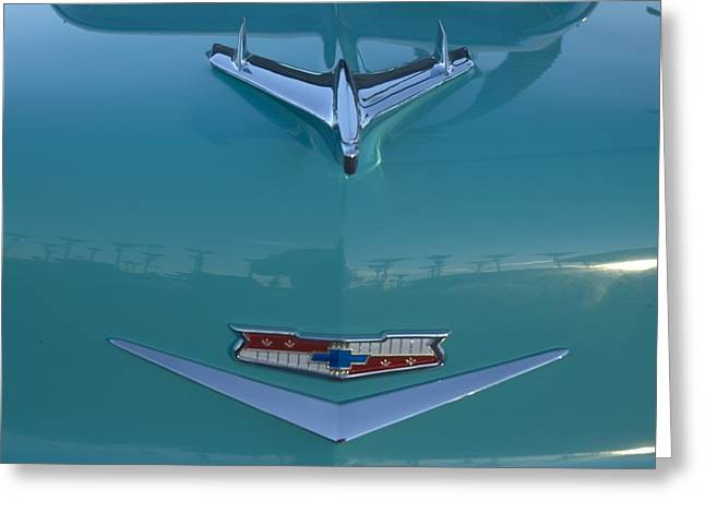 Flying Chevy Greeting Card