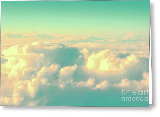 Flying Greeting Card by Delphimages Photo Creations