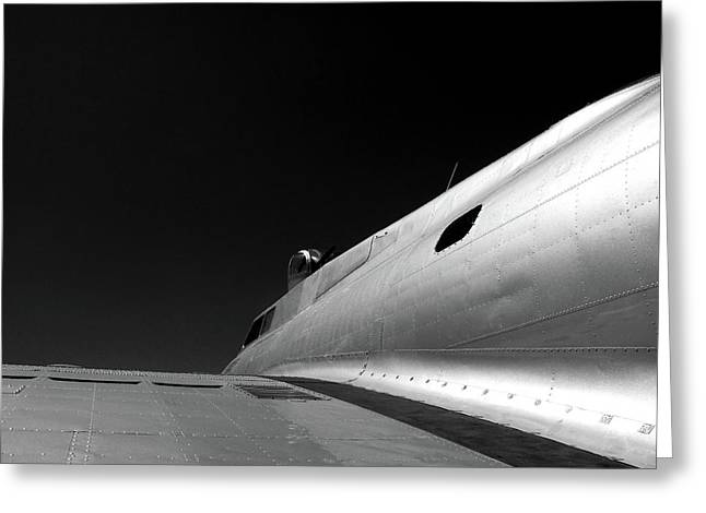 Larry Darnell Greeting Cards - Flying Fortress Greeting Card by Larry Darnell