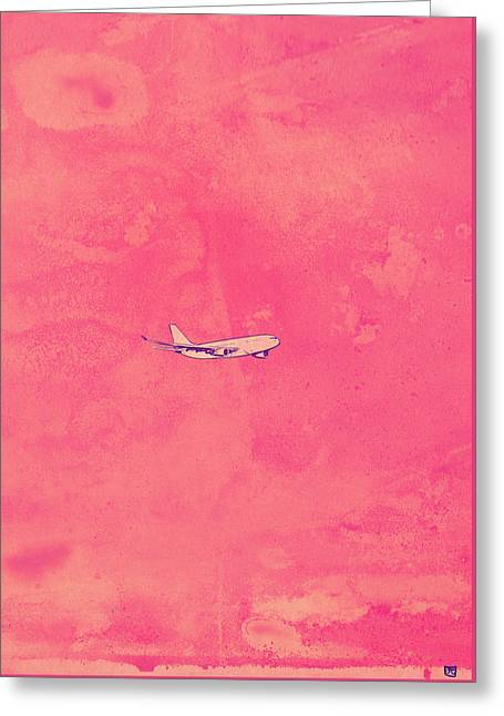 Flying Greeting Card