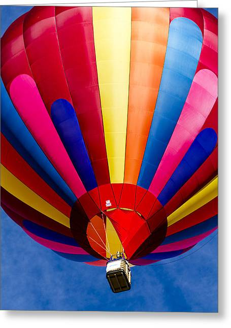 Flying High Colors Greeting Card by Teri Virbickis