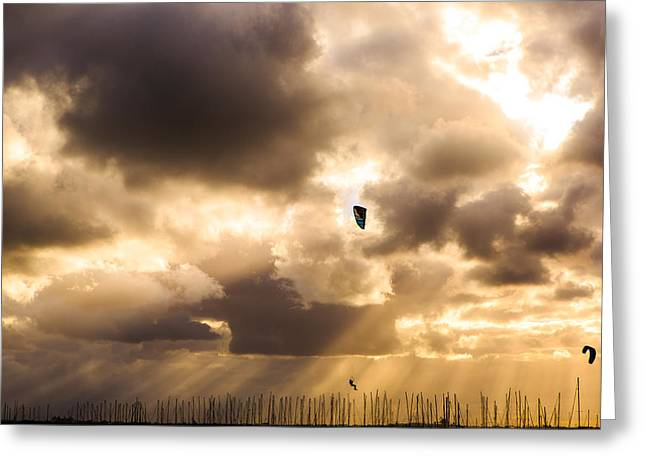 Flying High Greeting Card by James Thomas