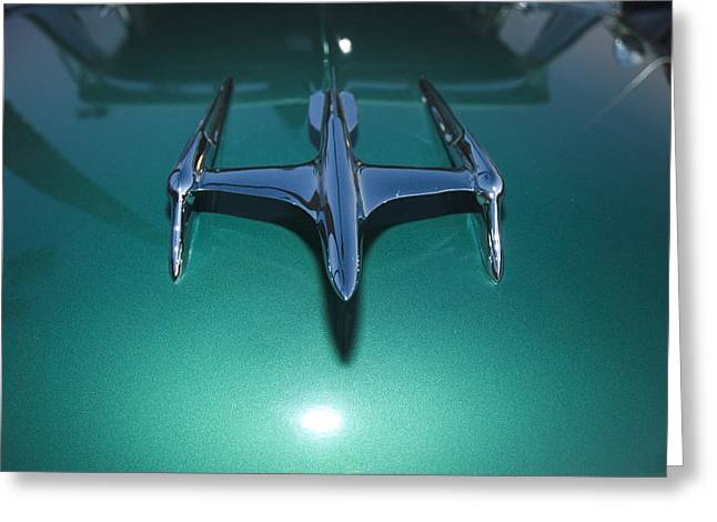 Flying Hood Ornament Greeting Card