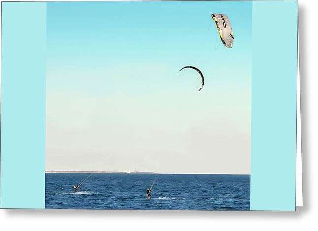 Flying On A Breeze Greeting Card by Brian Wallace