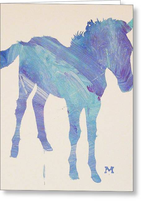 Foal Greeting Card