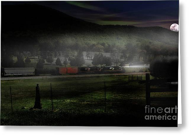 Fog And Steel Greeting Card