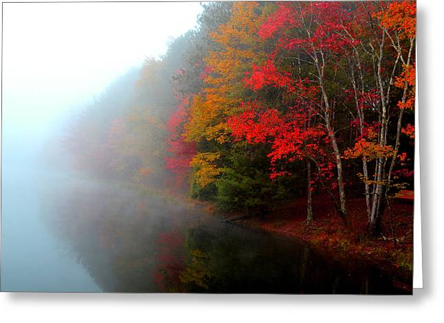 Clearing Fog Greeting Card