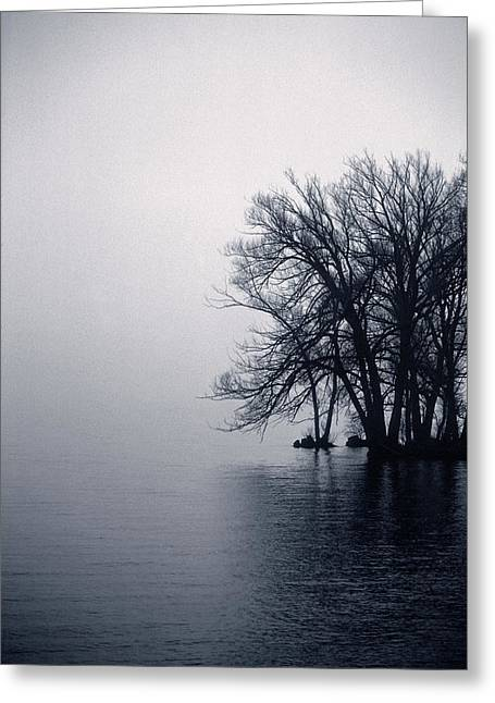 Fog Day Afternoon Greeting Card