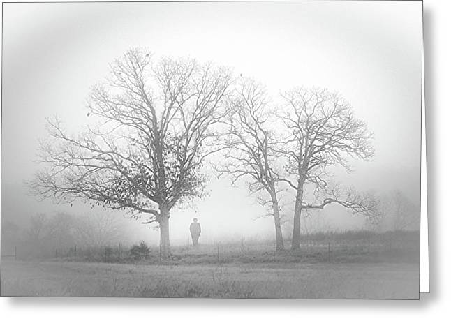 Fog Greeting Card by EG Kight