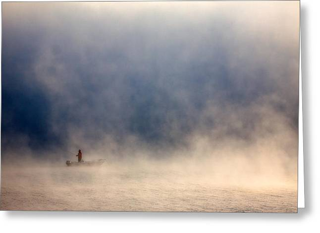 Fog Greeting Card by Fproject - Przemyslaw Kruk