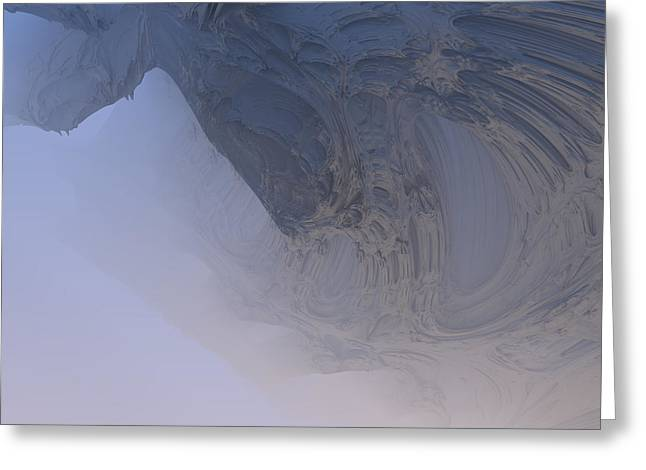 Fog In The Cave Greeting Card