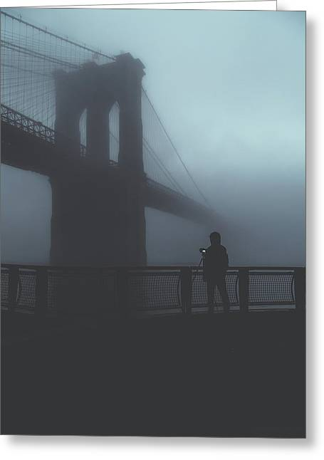 Fog Life  Greeting Card by Anthony Fields