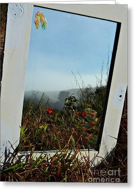 Fog Reflections Greeting Card