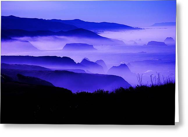 Fog Rising Greeting Card