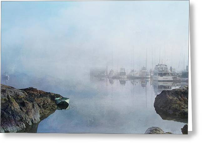 And Fog Drifts In Greeting Card