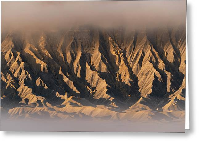 Foggy Butte Greeting Card