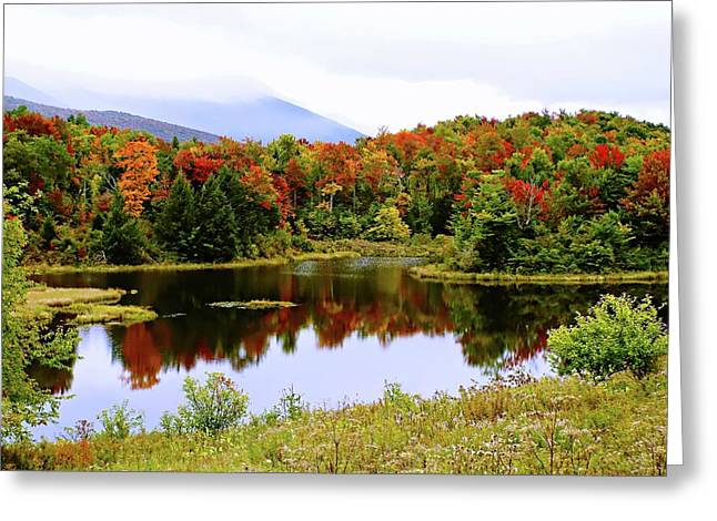 Foggy Day In Vermont Greeting Card by Joseph Hendrix