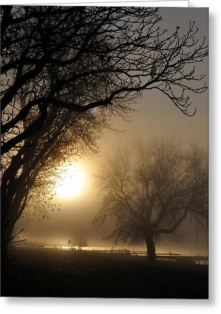 Foggy Morn Greeting Card