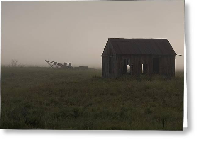 Foggy Morning  Greeting Card by John Higby