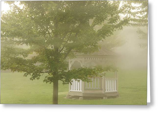 Foggy Morning Greeting Card by Art Spectrum