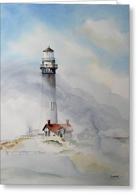 Foggy Point Greeting Card