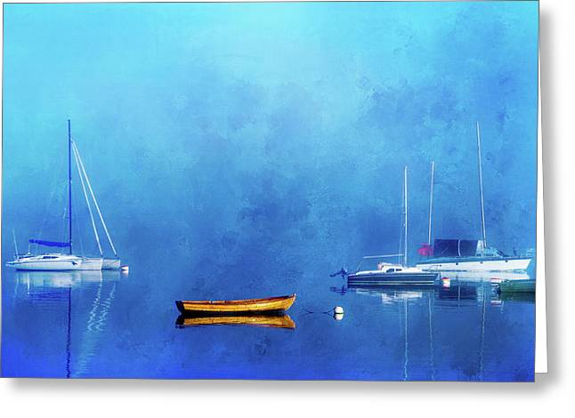 Upon The Still Waters Greeting Card