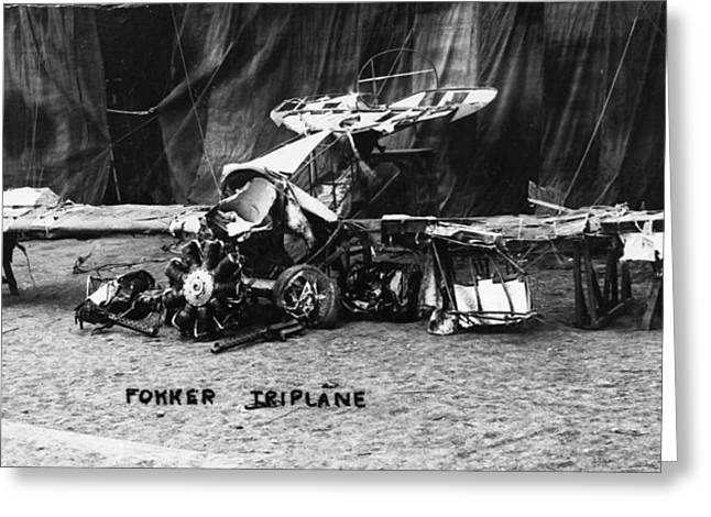 Fokker Tri-motor Airplane Greeting Card
