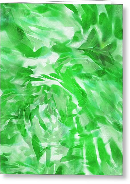 Foliage Overgrowth Greeting Card by Steve Ohlsen