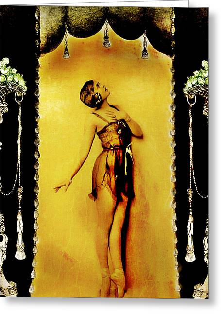 Greeting Card featuring the photograph Follies by Mary Morawska