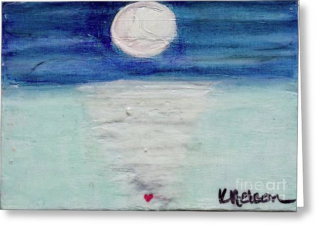 Follow Your Heart Greeting Card by Kim Nelson