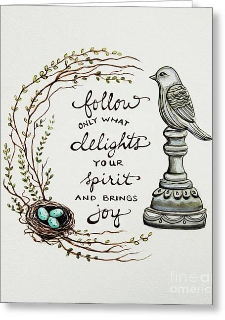Follow Your Spirit Greeting Card