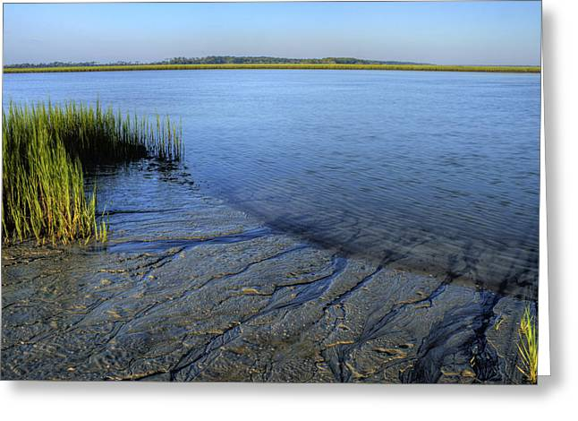 Folly Beach Marsh  Greeting Card by Dustin K Ryan
