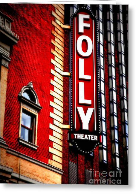 Folly Theater Greeting Card