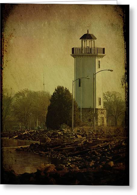 Fond Du Lac Lighthouse Greeting Card