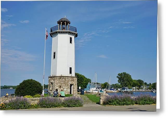 Fond Du Lac Lighthouse Greeting Card
