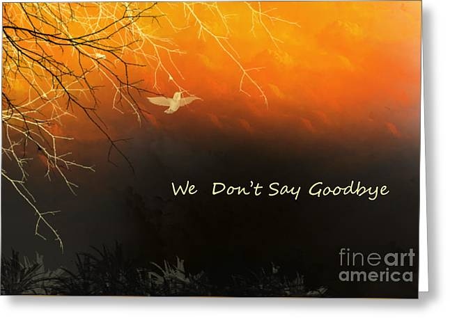 Fond Thoughts Greeting Card by Trilby Cole