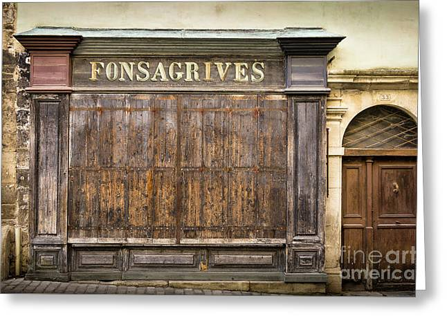 Fonsagrives In Saint-antonin-noble-val Greeting Card