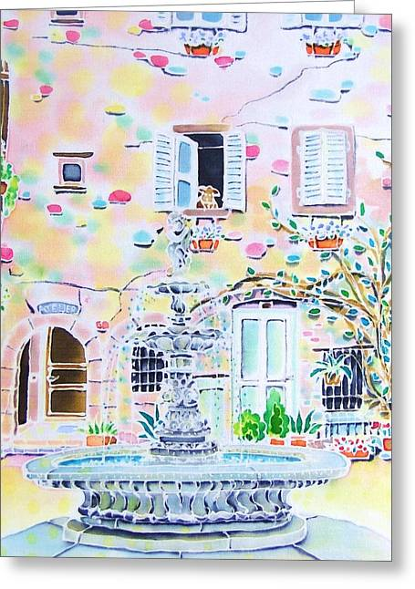 Fontaine Greeting Card