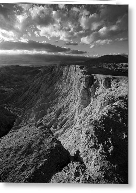 Font's Point Greeting Card by Peter Tellone
